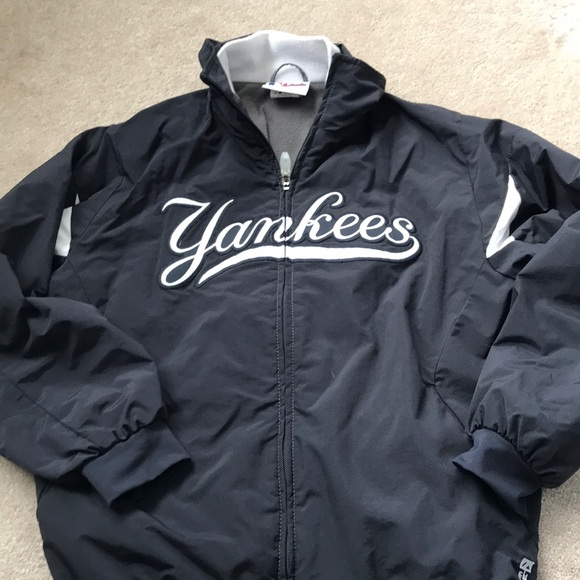 Majestic Other - Youth Yankees spring fall nylon jacket 0a8a2076397